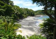 Panama Rundreise | Strand mit tropischer Kulisse von Boca Chica