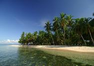 Strand der Isla Iguana
