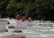 Panama Rundreise | Rafting in Boquete