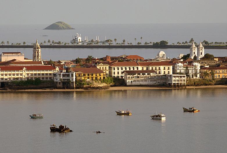 Panama Urlaub | Blick auf die Altstadt von Panama City