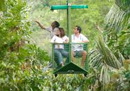 Panama Rundreise | Urwald-Seilbahn von Gamboa