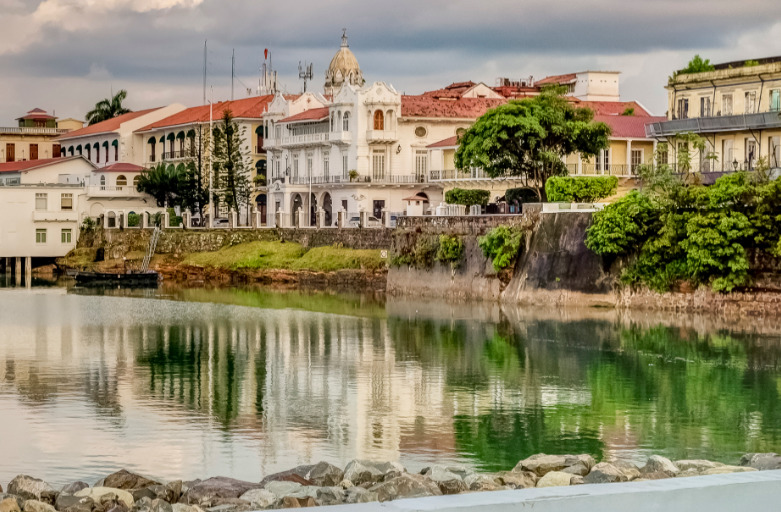 Panama Reisen | Blick auf die Altstadt von Panama City
