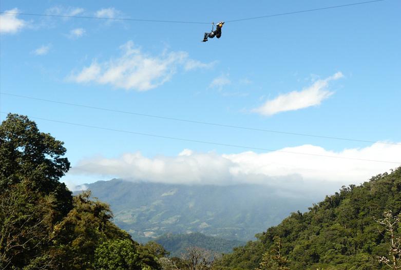 Panama Rundreise | Canopy in Boquete