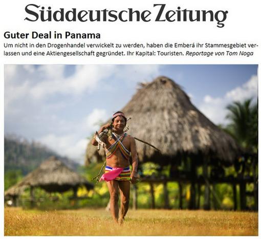 Sueddeutsche Zeitung | Embera Indianer