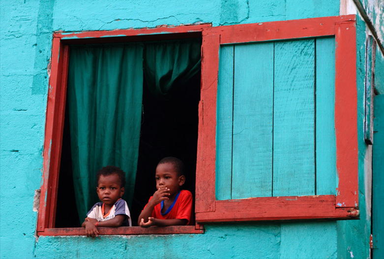 Panama Reisen | Kinder in Bocas del Toro