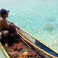 Panama Rundreise | Fischer im Cayuco, San Blas