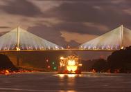 Puente Centenario, die Jahrhundertbrücke über den Panamakanal