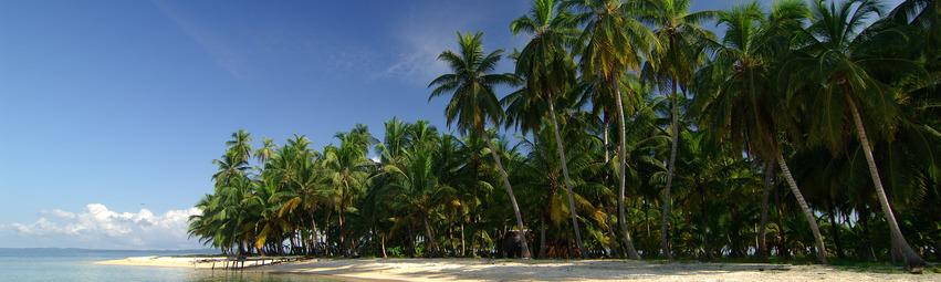 Panama Reisen | Strand der Isla Iguana