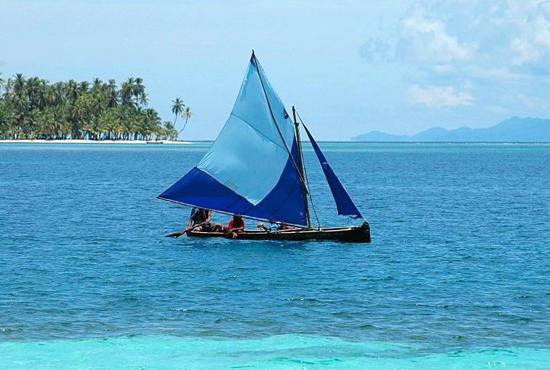 Panama Reisen | Kuna Segelboot