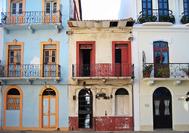 Panama Rundreise | Fassaden in der Altstadt von Panama City