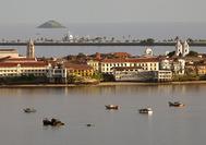 Blick auf die Altstadt von Panama City